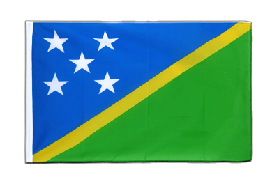Sleeved Flag ECO Solomon Islands - 2x3 ft