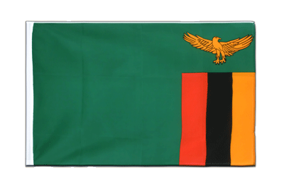 Sleeved Flag ECO Zambia - 2x3 ft