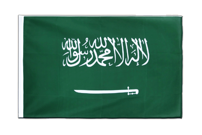 Sleeved Flag ECO Saudi Arabia - 2x3 ft