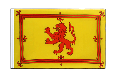 Sleeved Flag ECO Scotland Royal - 2x3 ft