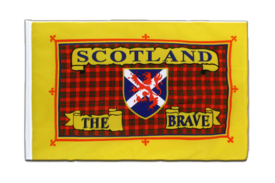 Sleeved Flag ECO Scotland the Brave - 2x3 ft