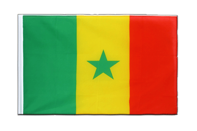 Sleeved Flag ECO Senegal - 2x3 ft