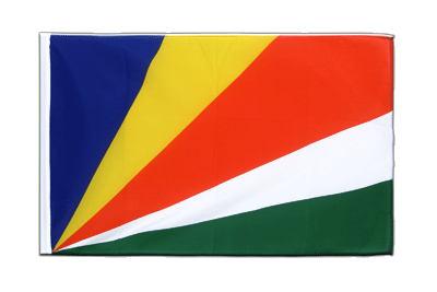 Sleeved Flag ECO Seychelles - 2x3 ft