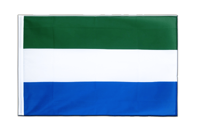 Sleeved Flag ECO Sierra Leone - 2x3 ft