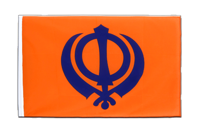 Sleeved Flag ECO Sikhism - 2x3 ft