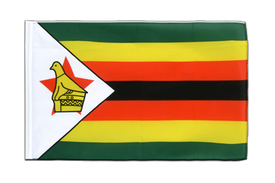 Sleeved Flag ECO Zimbabwe - 2x3 ft