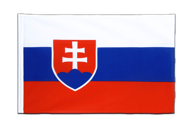 Sleeved Flag ECO Slovakia - 2x3 ft
