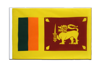 Sleeved Flag ECO Sri Lanka - 2x3 ft