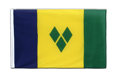 Drapeau Saint Vincent et les Grenadines Fourreau ECO 60 x 90 cm
