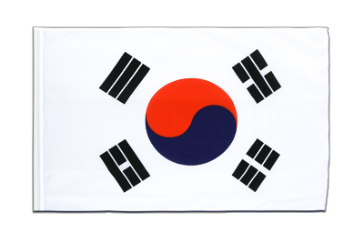 Sleeved Flag ECO South Korea - 2x3 ft