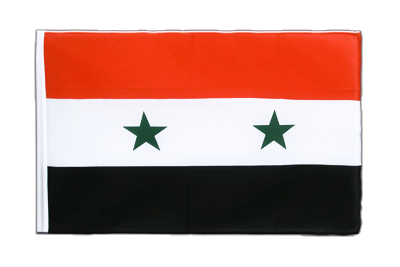 Sleeved Flag ECO Syria - 2x3 ft