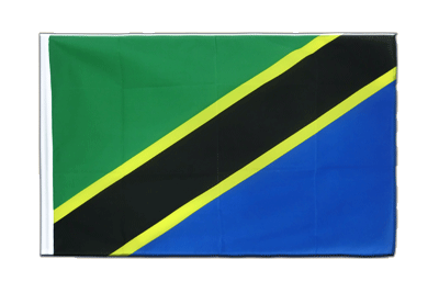 Sleeved Flag ECO Tanzania - 2x3 ft