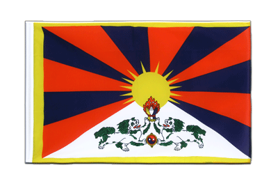 Sleeved Tibet Flag ECO - 2x3 ft