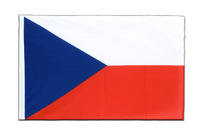 Sleeved Flag ECO Czech Republic - 2x3 ft