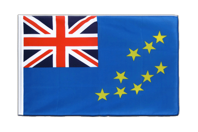 Sleeved Flag ECO Tuvalu - 2x3 ft
