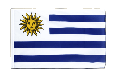 Sleeved Flag ECO Uruguay - 2x3 ft