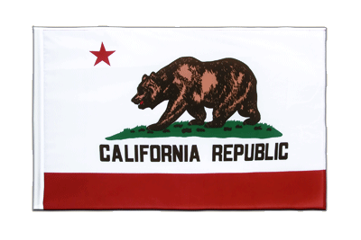Sleeved Flag ECO California - 2x3 ft