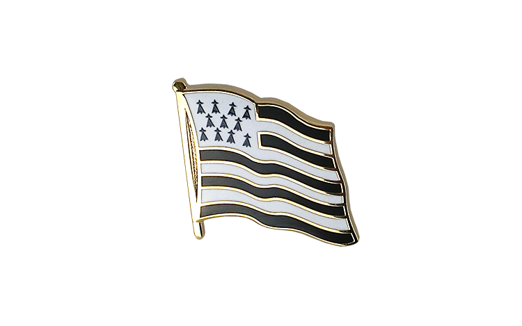 Flag Lapel Pin Brittany
