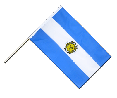 Hand Waving Flag ECO Argentina - 2x3 ft