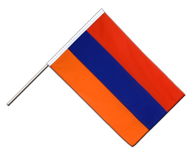Hand Waving Flag ECO Armenia - 2x3 ft