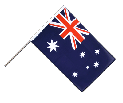 Hand Waving Flag ECO Australia - 2x3 ft