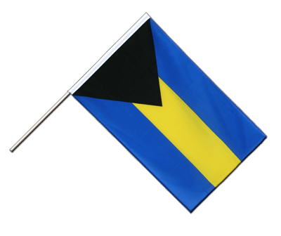 Hand Waving Flag ECO Bahamas - 2x3 ft