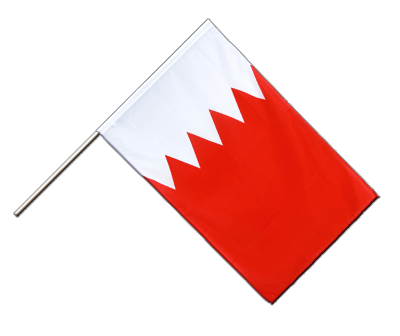 Hand Waving Flag ECO Bahrain - 2x3 ft