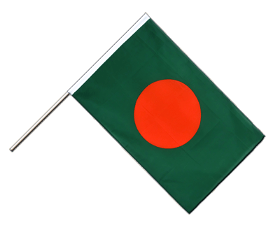 Hand Waving Flag ECO Bangladesh - 2x3 ft