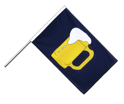 Beer Hand Waver Flag ECO - 2x3 ft