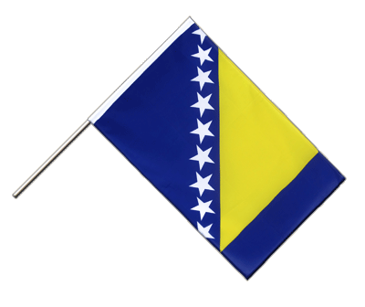 Hand Waving Flag ECO Bosnia-Herzegovina - 2x3 ft