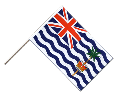 Hand Waving Flag ECO British Indian Ocean Territory - 2x3 ft