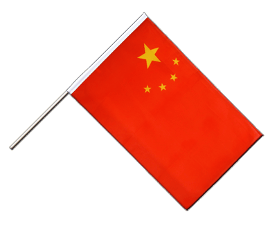 China Stockflagge ECO 60 x 90 cm