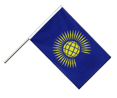 Hand Waving Flag ECO Commonwealth - 2x3 ft