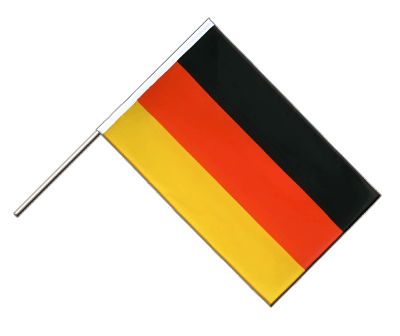 Hand Waving Flag ECO Germany - 2x3 ft