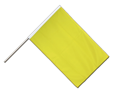 Hand Waving Flag ECO yellow - 2x3 ft
