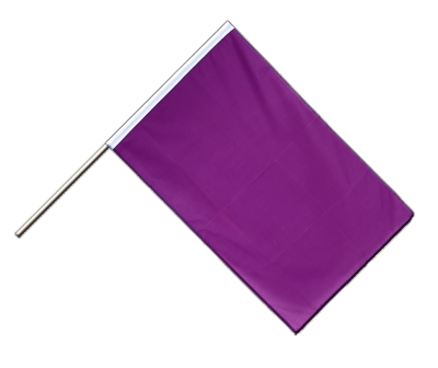 Hand Waving Flag ECO Purple - 2x3 ft