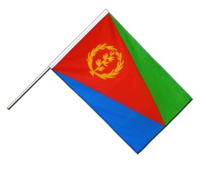 Hand Waving Flag ECO Eritrea - 2x3 ft