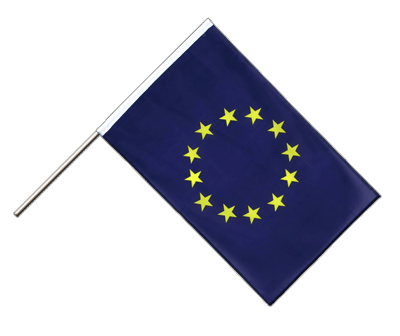 Hand Waving Flag ECO European Union EU - 2x3 ft