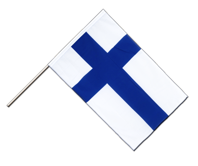 Finland Hand Waver Flag ECO - 2x3 ft