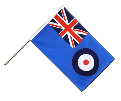 Drapeau sur hampe ECO Royal Air Force 60x90cm