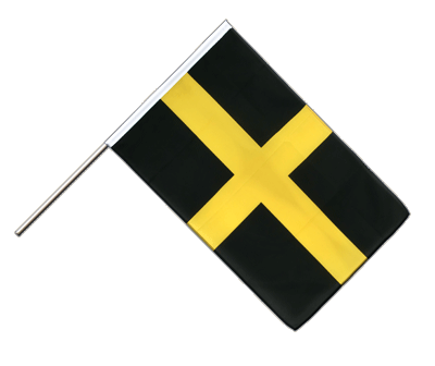 Hand Waving Flag ECO St. David - 2x3 ft