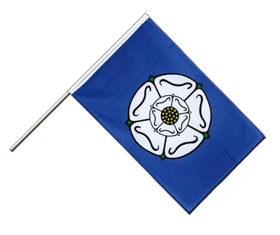 Hand Waving Flag ECO Yorkshire - 2x3 ft