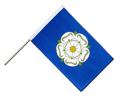 Hand Waving Flag ECO Yorkshire new - 2x3 ft