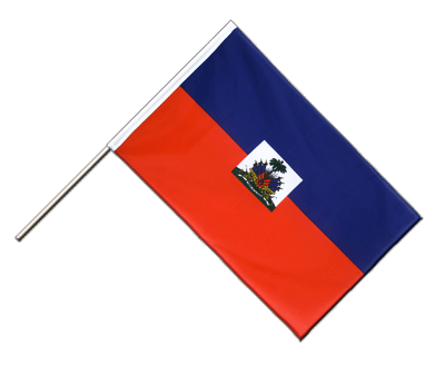 Hand Waving Flag ECO Haiti - 2x3 ft
