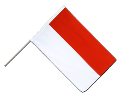 Hand Waving Flag ECO Indonesia - 2x3 ft