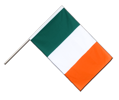 Hand Waving Flag ECO Ireland - 2x3 ft