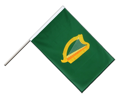 Hand Waving Flag ECO Leinster - 2x3 ft