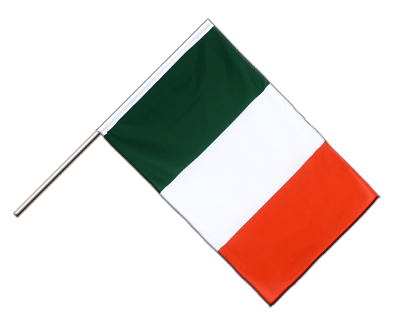 Hand Waving Flag ECO Italy - 2x3 ft
