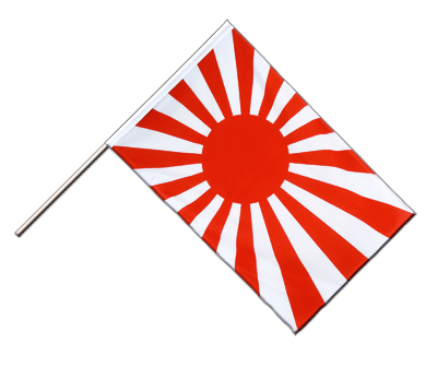 Japan war Hand Waver Flag ECO - 2x3 ft