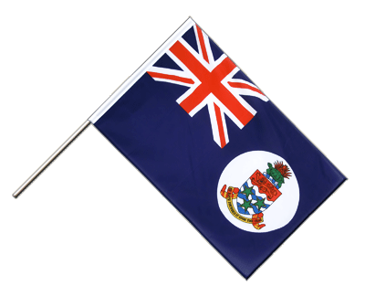 Hand Waving Flag ECO Cayman Islands - 2x3 ft